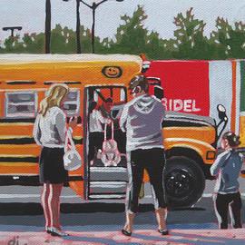 Dorothy Jenson - Bus Stop Moms