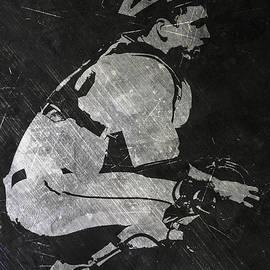 BUSTER POSEY SAN FRANCISCO GIANTS ART - Joe Hamilton