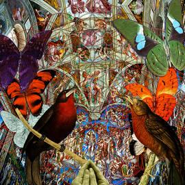 Joseph Mosley - Butterflies Birds And Heart