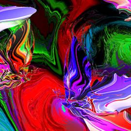 Abstract Angel Artist Stephen K - Butterflies Paint the Imagination