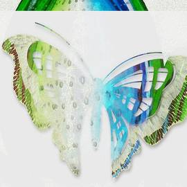 Catherine Lott - Butterfly Blue and Green
