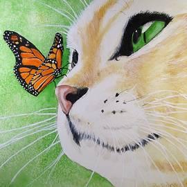 Carol Blackhurst - Butterfly Kissed Yellow Tabby