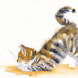 Debra Hall - Butterfly Kitten