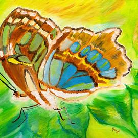 Meryl Goudey - Malachite Butterfly Delight