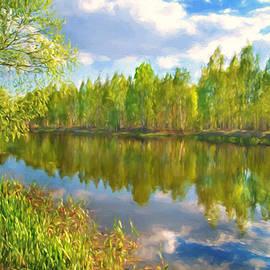 Veikko Suikkanen - By the river