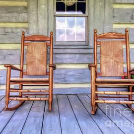 Marion Johnson - Cabin Porch