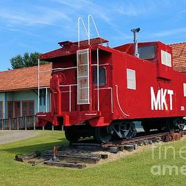 Janette Boyd - Caboose at Katy Depot in Checotah Oklahoma