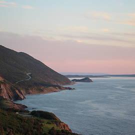Maria Pogoda - Cabot Trail at dusk