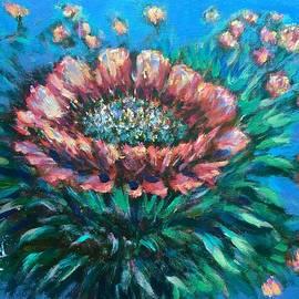 Laila Awad Jamaleldin - Cactus flowers