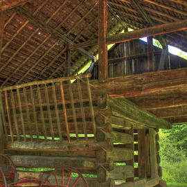 Reid Callaway - Cades Cove Counter-Lever Barn