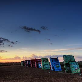 Ken Smith - Cadillac Ranch Sunrise