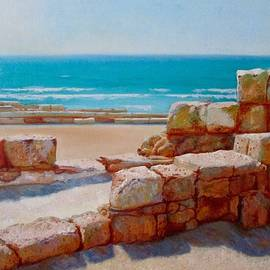 Anna Shurakova - Caesarea, Israel