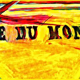 Paula   Baker - Cafe Du Monde in Bright Yellow