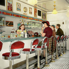 Mike Savad - Cafe - The local hangout 1941