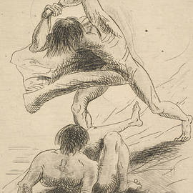 Cain and Abel - Odilon Redon
