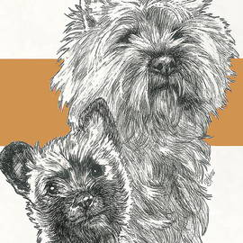 Barbara Keith - Cairn Terrier Father and Son