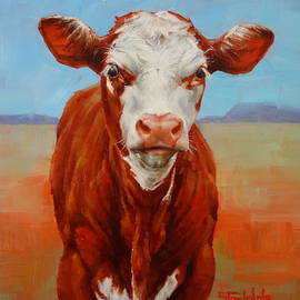 Margaret Stockdale - Calf Stare