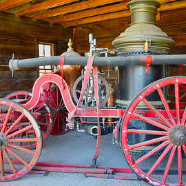 Barbara Snyder - Calico Ghost Town Fire Engine