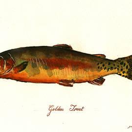 California golden trout fish - Juan  Bosco