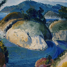 California Headlands - George Bellows