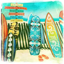 Nina Prommer - California Surfboards