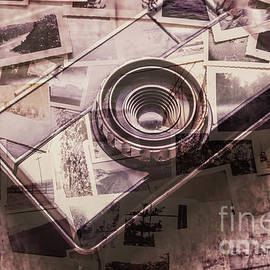 Camera of a vintage double exposure - Jorgo Photography - Wall Art Gallery