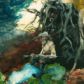 Campfire Adirondacks - Winslow Homer