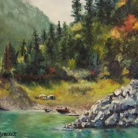 Lori Brackett - Camping On The Lake Shore