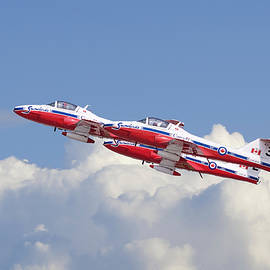 Canadian Air Force Aerobatic team - Snowbirds - Pat Speirs