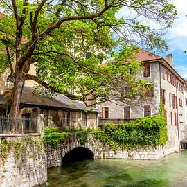 W Chris Fooshee - Canal in Annecy France