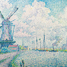 Canal of Overschie - Paul Signac