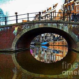 Al Bourassa - Canals Of Amsterdam V - Painting