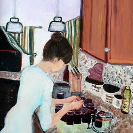 Aleezah Selinger - Canning Blueberry Jam