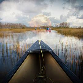 Debra and Dave Vanderlaan - Canoeing Into Moonlight