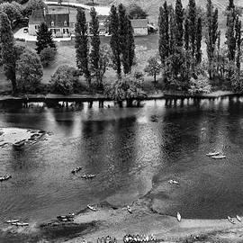 Georgia Fowler - Canoeing on the River