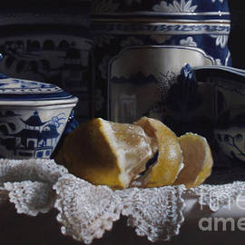 Larry Preston - CANTON CHINA LACE AND LEMON