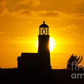 Bob Christopher - Cape Blanco Lighthouse Sunset 1