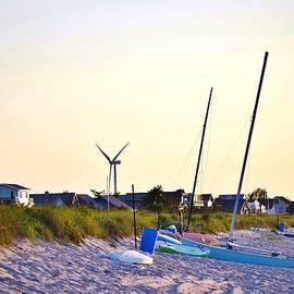 Kim Bemis - Cape Henlopen Beach Scene