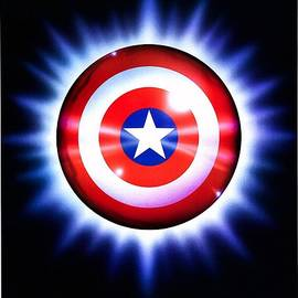 Movie Poster Prints - Captain America