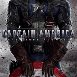 Movie Poster Prints - Captain America The First Avenger