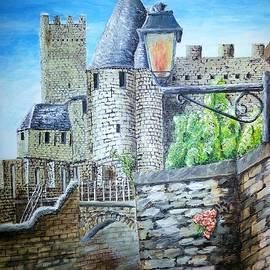 Irving Starr - Carcassonne Castle France