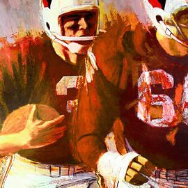 Big 88 Artworks - Cardinals 1966 Vintage poster