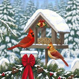 Crista Forest - Cardinals Christmas Feast