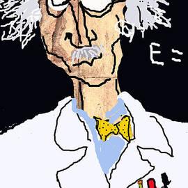 Joe Jake Pratt - Einstein Caricature