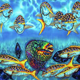 Daniel Jean-Baptiste - Caribbean Reef Fish - Parrotfish - Blue Tang - Yellowtail Snapper