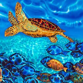 Daniel Jean-Baptiste - Caribbean Sea  Turtle and Reef  Fish