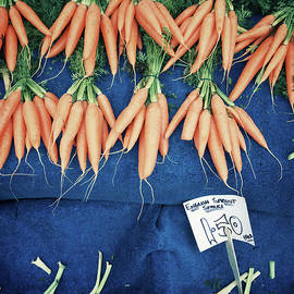Carrots at the market - Tom Gowanlock