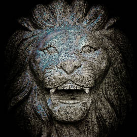 Loriental Photography - Carved Stone Lion