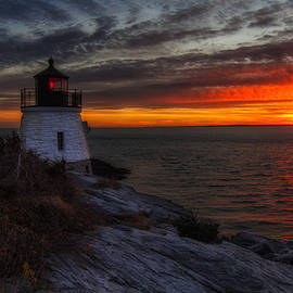 John Vose - Castle Hill Lighthouse Sunset