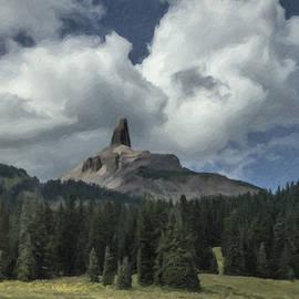 David Kehrli - Chimney Rock in Paint